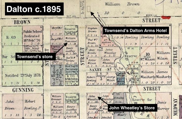 Dalton Town Map