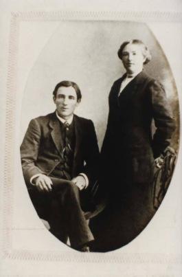 Harold & Annie Alchin (Harold and Annie Alchin (image supplied by Cheryl Hewlett)